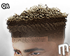 Curly Box Fade - Ombre