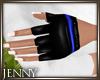 *J 80's Gloves Blue