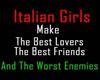 Italian Women Sticker
