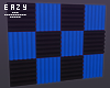 µ Blue acoustic panels
