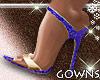Valentines Heels Blue