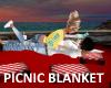 *T* Beach Picnic Blanket