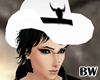 White Black Cowboy Hat