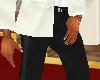 -RJ- Black Tuxedo Pants