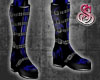 Demon Flame Boots Blue
