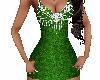 Glitter Green & Diamonds