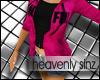 [HS] Pink Sin Hoody