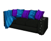 Sofa and lights