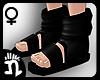 (n)Ninja Sandals 7 Black
