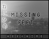 [HIME] Ghost Feet M