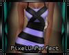 {pup} Purple Strap Dress