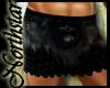 ~NS~ Vikings black skirt