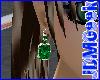 -JDM-Emerald Earrings