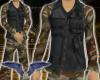 Camo shirt & Vest