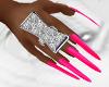 DB- Hot Pink NAILS