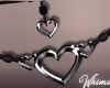 Frills Heart Necklace
