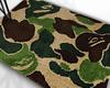 Camo.Bape print rug