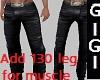 Slim leathers add 130