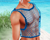 Blue Layer Net Top V2