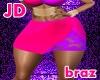 Brazilian Btm Firey Pink