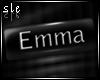 [SLE] Emma Name tag