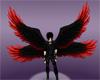 Red/Black Angel Wings