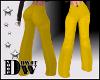 D- Wide Leg Yellow XXL