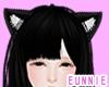 ᕮ Kitty Ears Black