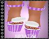 B! Lilac Kawaii Shoes v2