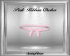 Pink Ribbon Choker