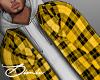 Yellow Plaid Jacket