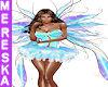 Anais Blue Fairy Wings