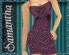 ~SD~Purple Leopard Dress
