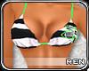 $R Lime Bikini-T