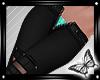 !! Black Jeans Unzipped