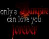 only a VAMPIRE.. sticker