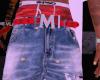 mcm. blue jeans