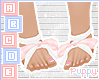 . Pink Fairy Feet Ribbon