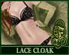 Lace Cloak Green