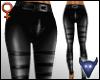 Leather strap pants (f)