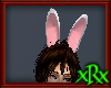 Bunny Ears white/pink