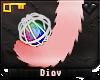 *D* Kitty Tail /w Toy