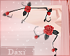 ❖Rose Black Elf Ears