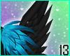 Crow Head Feathers