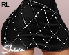 $ PrincessSkirt Black RL