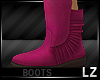 Cute Pink Boots