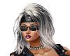 Hair SilverBlack Lizzy