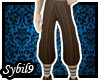 [MMO] Brown Baggy Pants