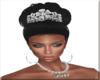 Bride Hair W/Crown 3
