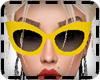 KPR::YellowCatSunGlasses